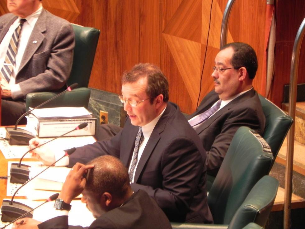 North District Councilman Joseph Golombek.
