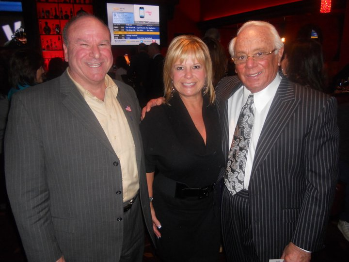 Councilwoman Benczkowski with Russell Salvatore, the renowned local businessman who founded Salvatore's Italian Gardens.