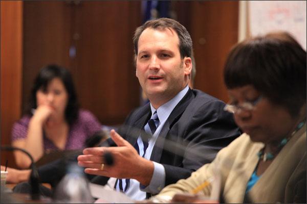 School board member Jason McCarthy.