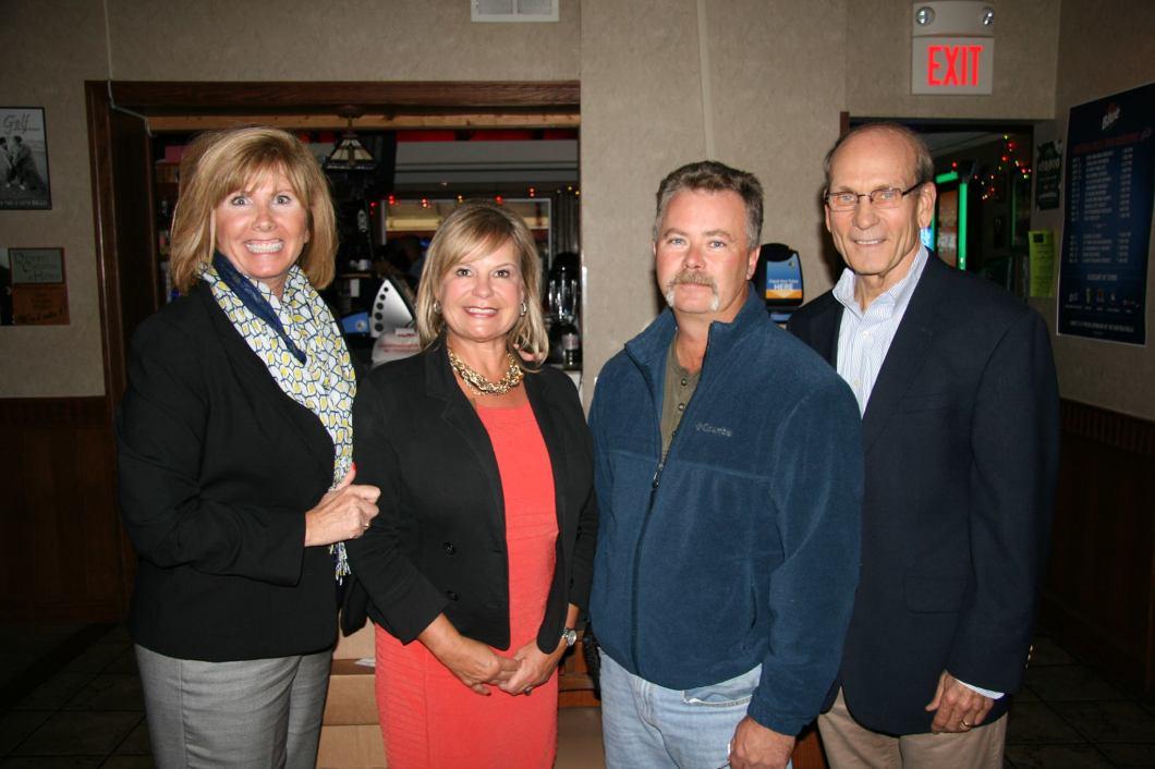 Diane Benczkowski with former County Executive Dennis Gorski.