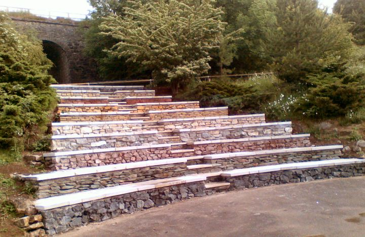 Wirksworth Amphitheater.