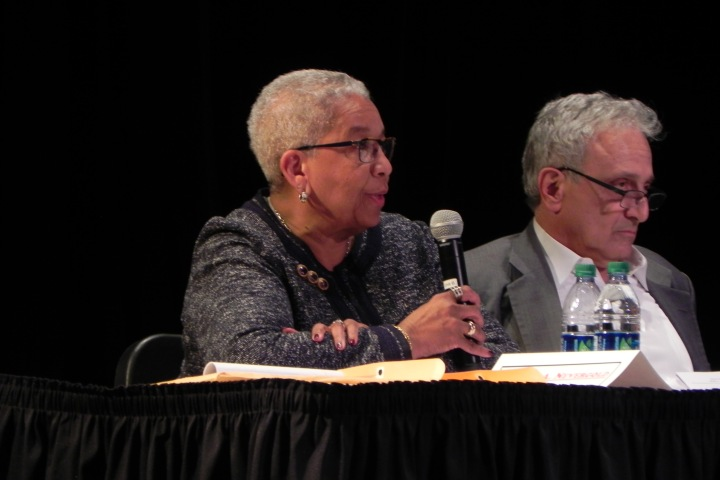 Dr. Nevergold is the former school board president and a professor at Empire State College.