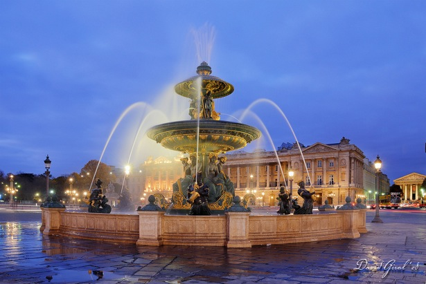 Fountain de la Concorde, Paris.