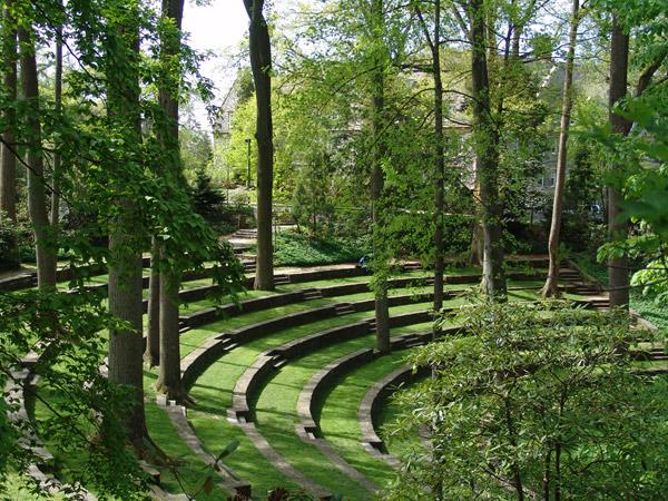 Scott Amphitheater, Swarthmore College.