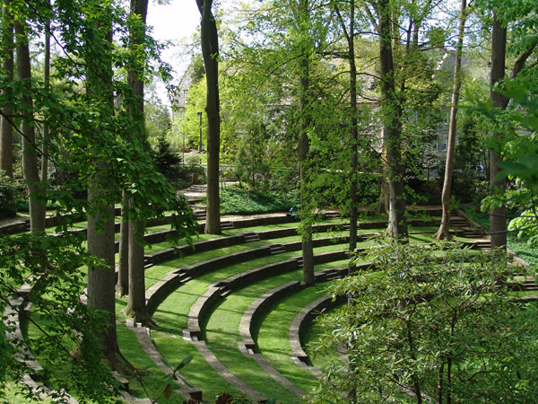 Scott Amphitheater, Swarthmore College.